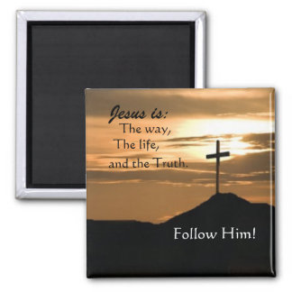 Follow Jesus Magnet