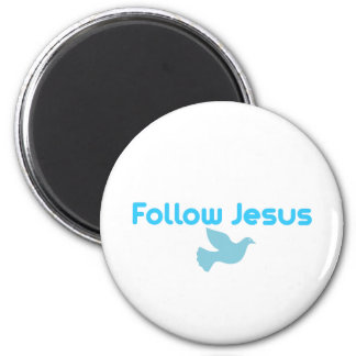 FOLLOW JESUS MAGNET