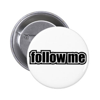 Follow Me 2 Inch Round Button