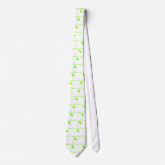 Follow Me Apple Green Neck Tie