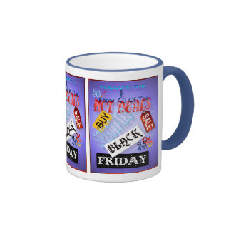 Follow Me-Black Friday  Mugs