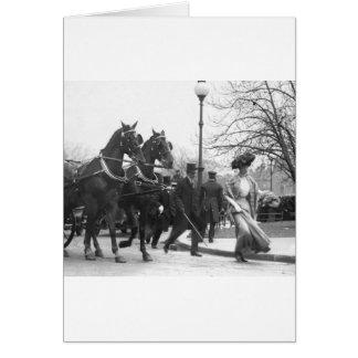 Follow Me Boys, 1908 Card
