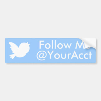 Follow Me Bumper Sticker Car Bumper Sticker