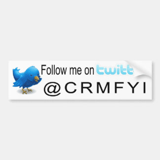 Follow me bumper sticker car bumper sticker