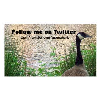 Follow Me Business Card