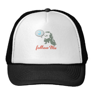 Follow Me Christian Clothing Trucker Hat