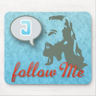 Follow Me Christian Mouse Pad