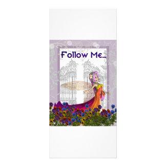 Follow Me Event Card Customized Rack Card