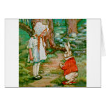 Follow me - I'll take you to Wonderland! Greeting Card