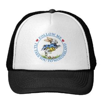 Follow Me. I'll Take You To Wonderland! Trucker Hat