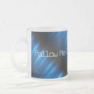 Follow Me Into the Future Electric Blue Pulse Cup