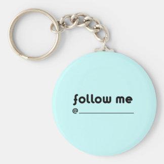 follow me @ keychains