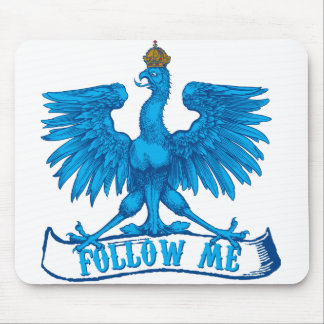 Follow me mouse pad