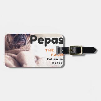 Follow me on IG-@pepaseed (1) Bag Tag