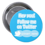 Follow Me On Twitter Items Buttons
