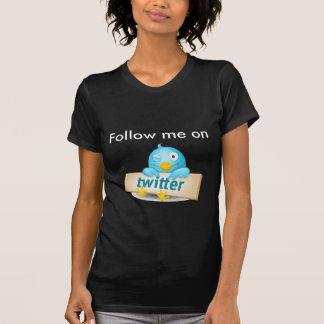 Follow me on twitter shirt