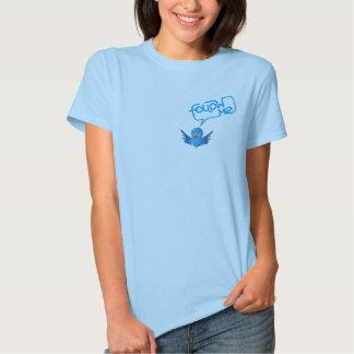 Follow me on twitter tee shirt