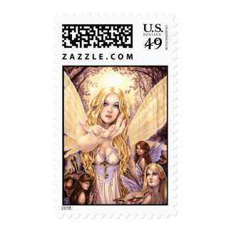 Follow Me Postage Stamp