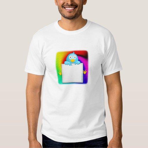 follow me qr code t-shirt