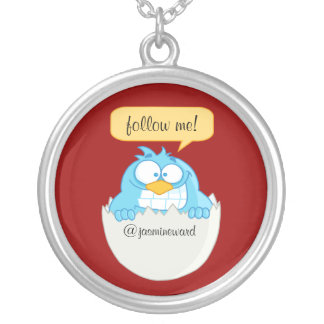 Follow Me Social Networking Necklace