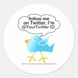 Follow Me@ Sticker