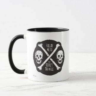 Follow Me To The Devil's Triangle Mug
