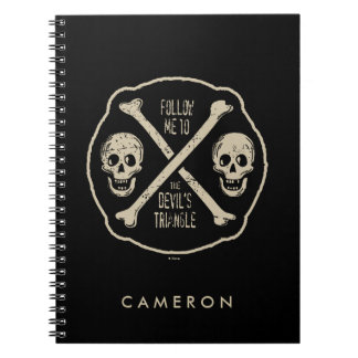 Follow Me To The Devil's Triangle Notebook