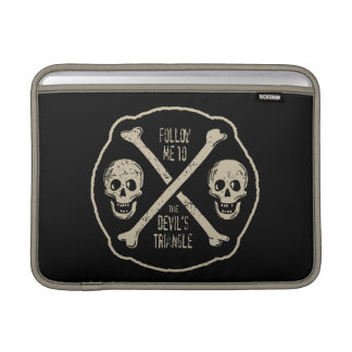 Follow Me To The Devil's Triangle Sleeve For MacBook Air