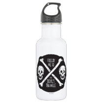 Follow Me To The Devil's Triangle Stainless Steel Water Bottle