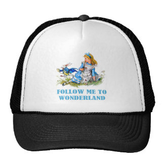 FOLLOW ME TO WONDERLAND TRUCKER HAT