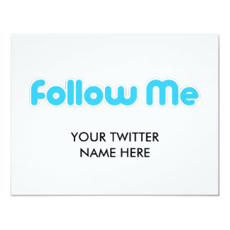 follow me (twitter) card