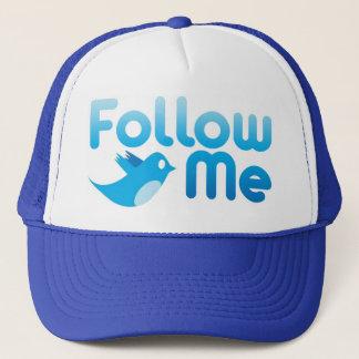 Follow Me Twitter Mr Funny Parody Trucker Hat