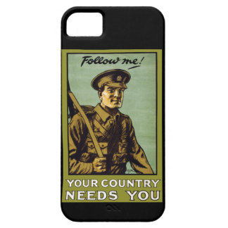 Follow Me! ~ Your Country Needs You iPhone 5 Cover