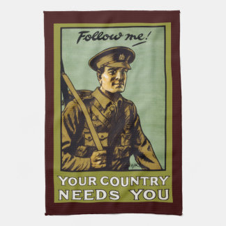 Follow Me! ~ Your Country Needs You Towels