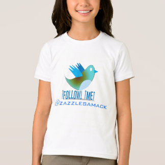Follow Me @ YOUR Twitter Address T-Shirt