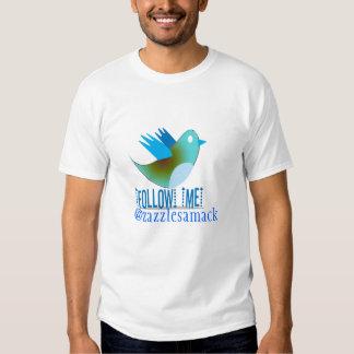Follow Me @ YOUR Twitter Address T-shirt