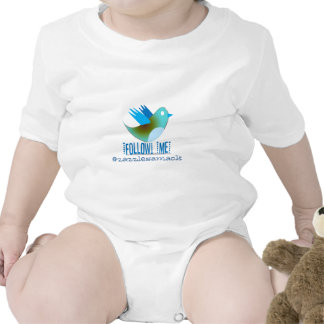 Follow Me @ YOUR Twitter Address T Shirts