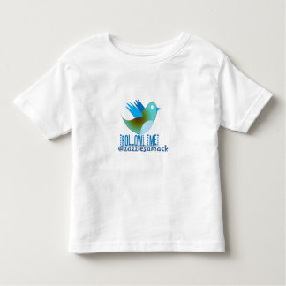 Follow Me @ YOUR Twitter Address Toddler T-shirt