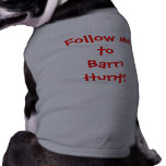 Follow metoBarn Hunt! Dog Clothes