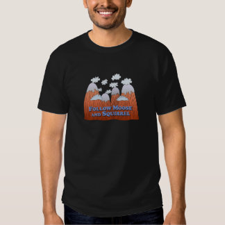 Follow Moose and Squirrel - Dark T-shirt