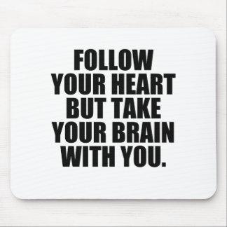 follow mouse pad