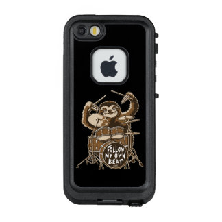 Follow my own beat LifeProof FRĒ iPhone SE/5/5s case