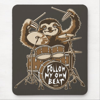 Follow my own beat mouse pad