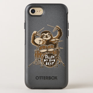 Follow my own beat OtterBox symmetry iPhone 7 case