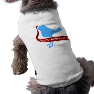 Follow My Tweet Pet Clothing