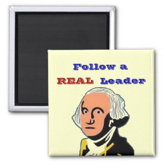 Follow REAL Leader 2 Inch Square Magnet