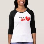 Follow Son the - jesús Saves (Heart)
