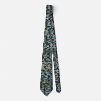 Follow the Bouncing Balls Modern Fashion Neck Tie