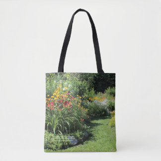 Follow The Cottage Garden Pathway! Tote Bag