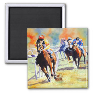 Follow the Leader 2 Inch Square Magnet